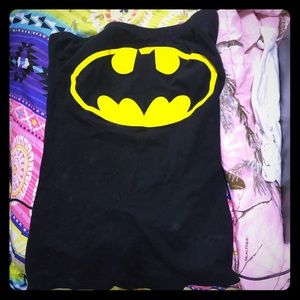 Batman LaceUp tube top